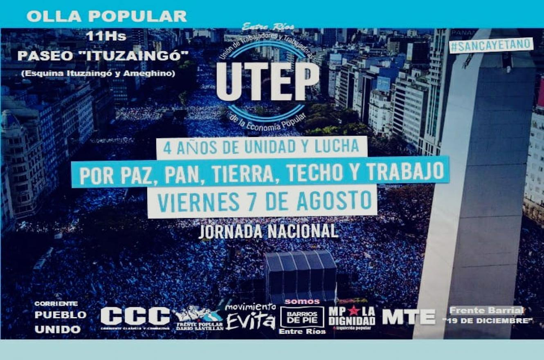 Jornada de Movimientos Populares en San Cayetano