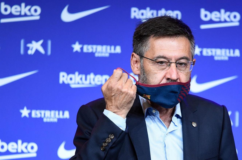 Bartomeu renunció como presidente del Barcelona