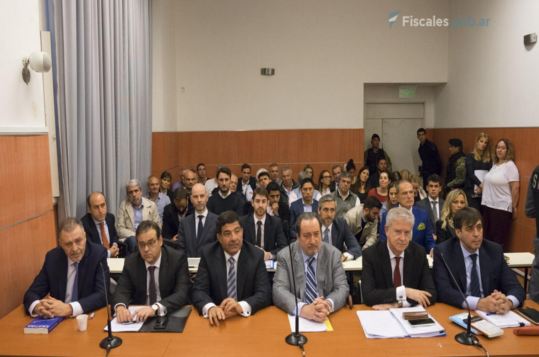 Echegaray, López y De Sousa juicio