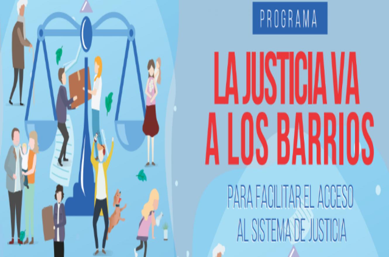 """""""La Justicia va a los barrios"""" estará en La Paz y Rosario del Tala"""