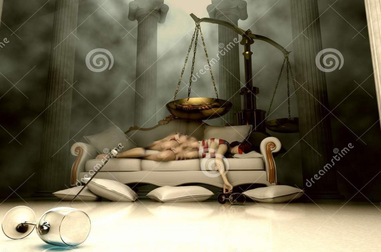 justicia dormida