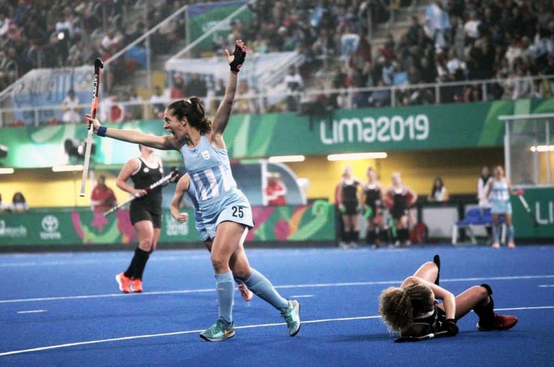 """Lima 2019: las """"Leonas"""" lograron el oro y el boleto a los Juegos Olímpicos"""