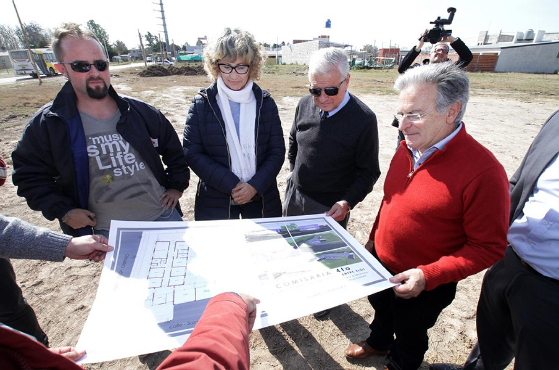 Autoridades provinciales y municipales analizaron las obras públicas en Concepción del Uruguay.