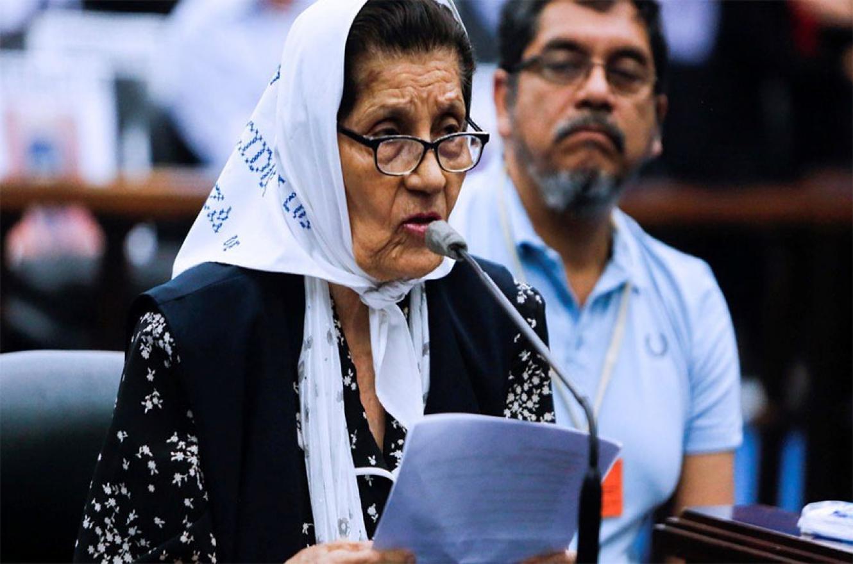 La madre del soldado Alberto Agapito Ledo apeló la absolución de Milani ante la Cámara de Casación Penal.