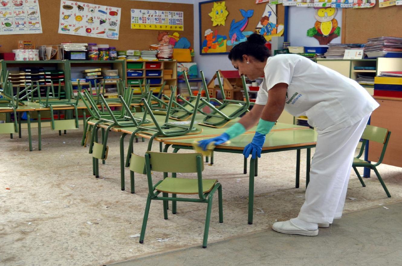 Limpieza escuela