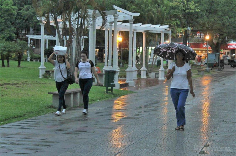 Lluvias en Paraná