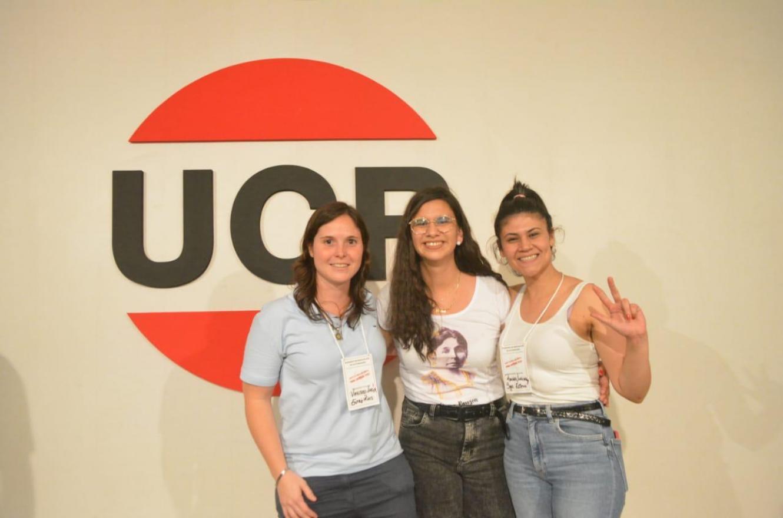Lucía Varisco junto a Belén Pérez y Luciana Rached