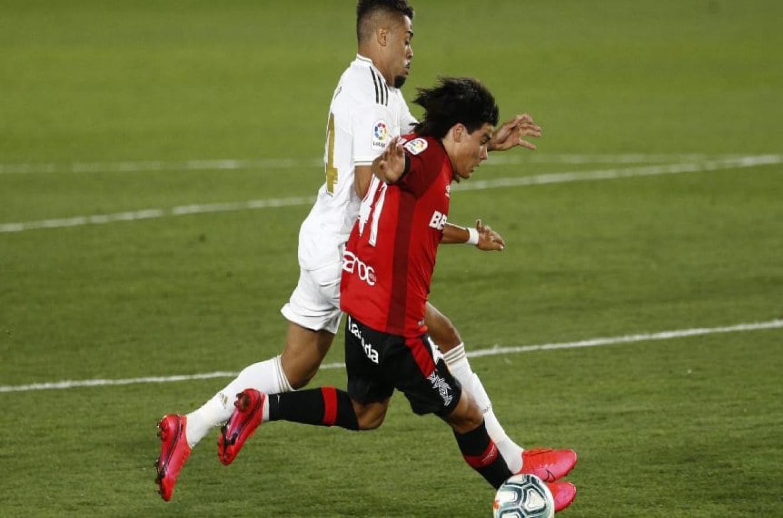 Luka Romero se convirtió en el futbolista más joven en debutar en la Liga española