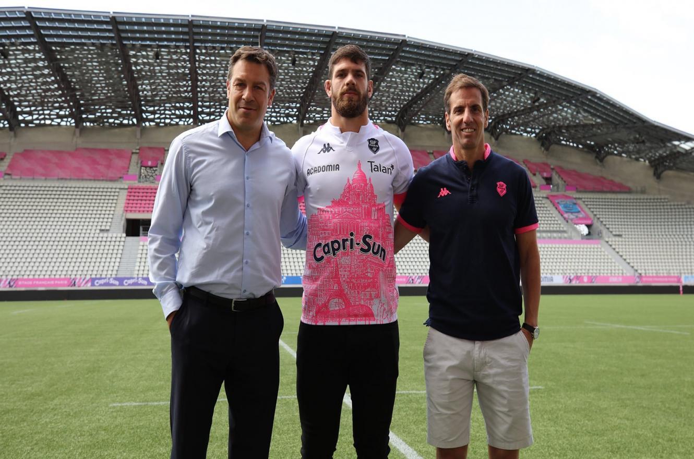 Rugby: presentaron al entrerriano Marcos Kremer en el Stade Francais