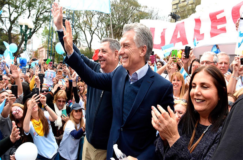 """""""Ahora viene algo distinto, el alivio a fin de mes"""", dijo Macri en Entre Ríos"""
