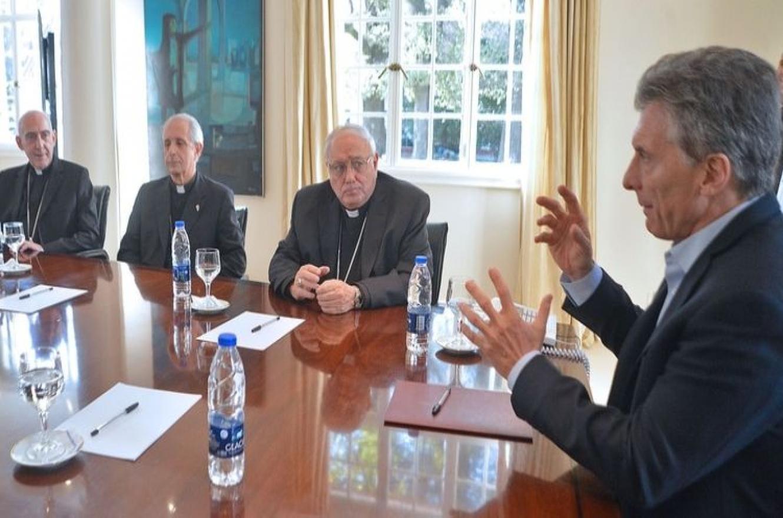 Macri con la Iglesia