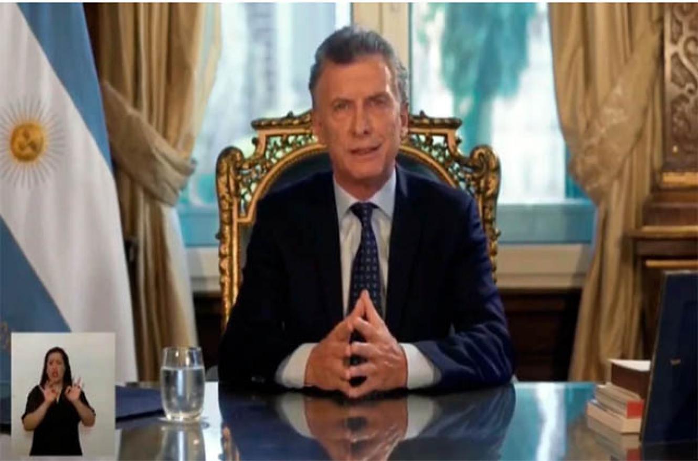 Balance de gestión de Mauricio Macri por cadena nacional