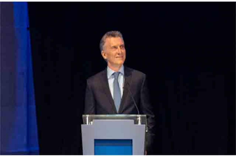 Macri en el debate presidencial en Santa Fe