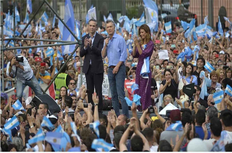 Mauricio Macri despedida del gobierno