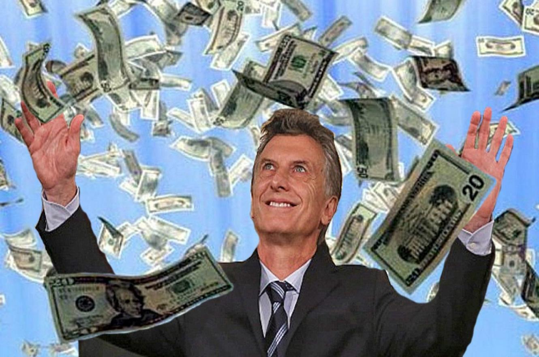 Macri y los dólares