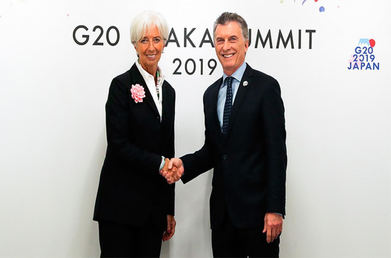 Macri con Lagarde