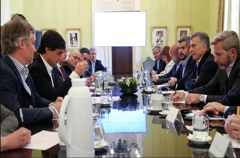 Macri con el Gabinete