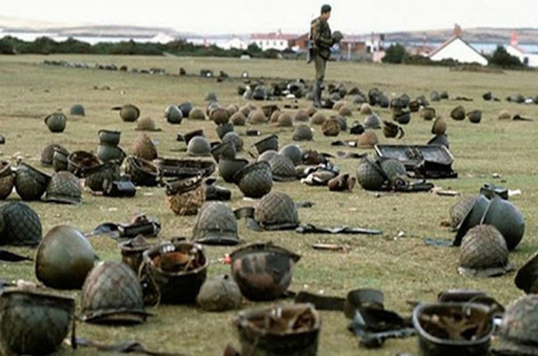 Clubes brindaron homenaje a los héroes de la Guerra de Malvinas