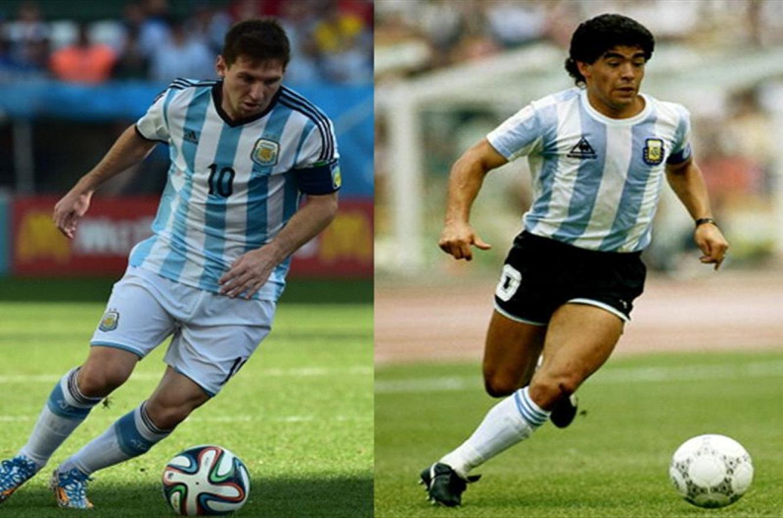 Maradona y Messi integran el mejor equipo de la historia de France Football