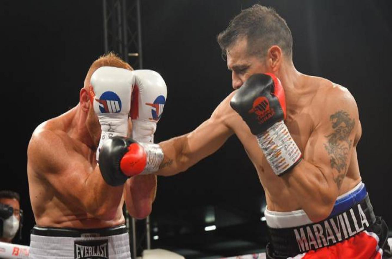 """""""Maravilla"""" Martínez volvió al boxeo con una victoria por nocaut técnico"""