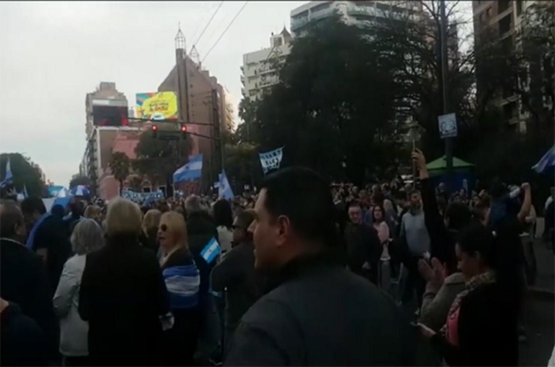 Marcha a favor del gobierno