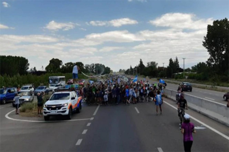 Marcha contra minería Mendoza