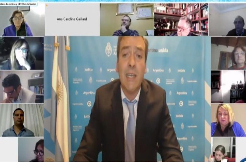 ministro de Justicia de la Nación, Martín Soria