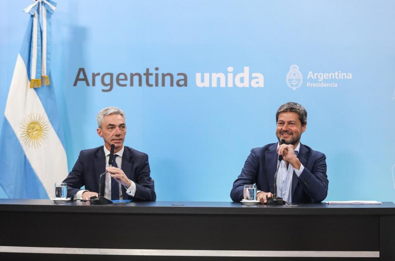 Mario Meoni junto a Matías Lammens