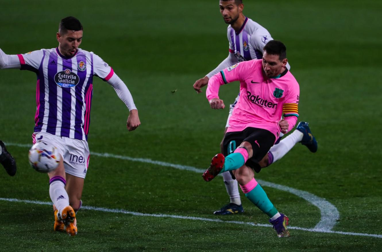 Lionel Messi rompió el récord de Pelé: es el jugador con más goles para un mismo club