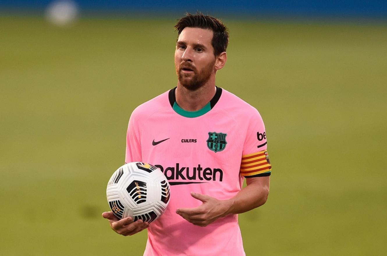 Lionel Messi marcó por duplicado en un amistoso del Barcelona
