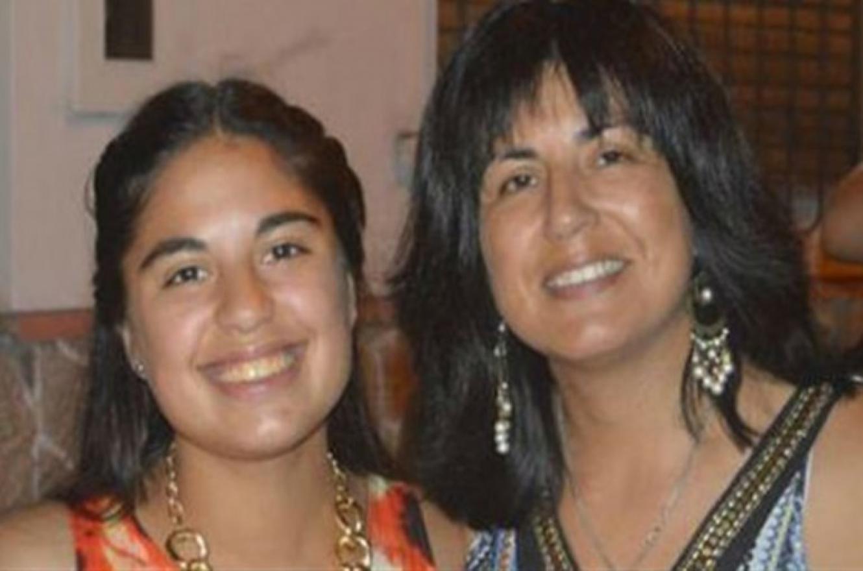 Micaela García junto a su mamá, Andrea Lescano