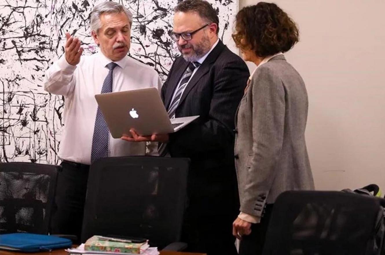 Alberto Fernández y Cristina Kirchner se reunieron para definir el gabinete