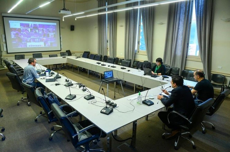 Sesión del Consejo Federal de Educación vía videoconferencia