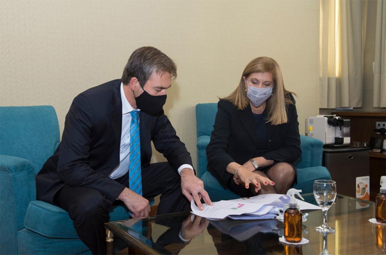 El ministro Soria le confirmó a la ministra Romero la continuidad de las obras vinculadas con el Servicio Penitenciario.