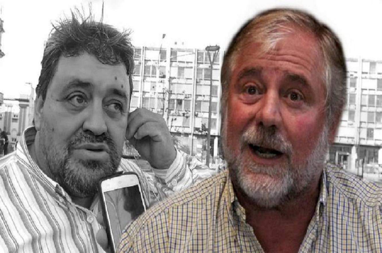 Fabián Monzón y José Allende