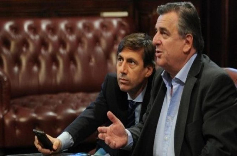 Luis Naidenoff y Mario Negri