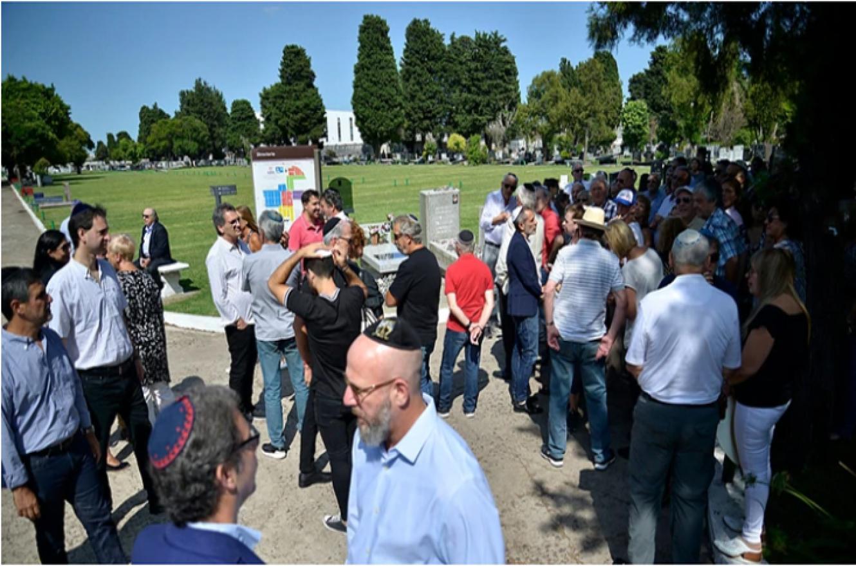 Nisman acto homenaje La Tablada