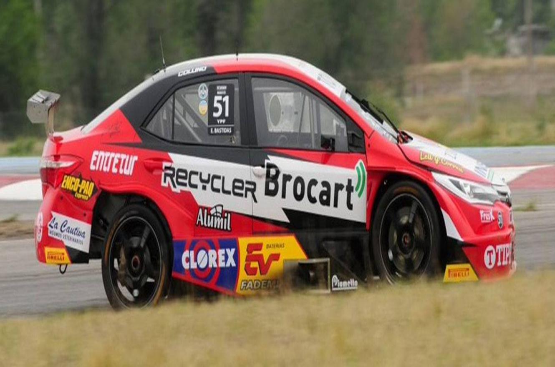 El paranaense Exequiel Bastidas logró su cuarta pole en el TC2000
