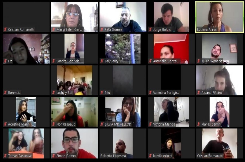 Más de 70 personas participaron de una charla virtual impulsada por la FBER