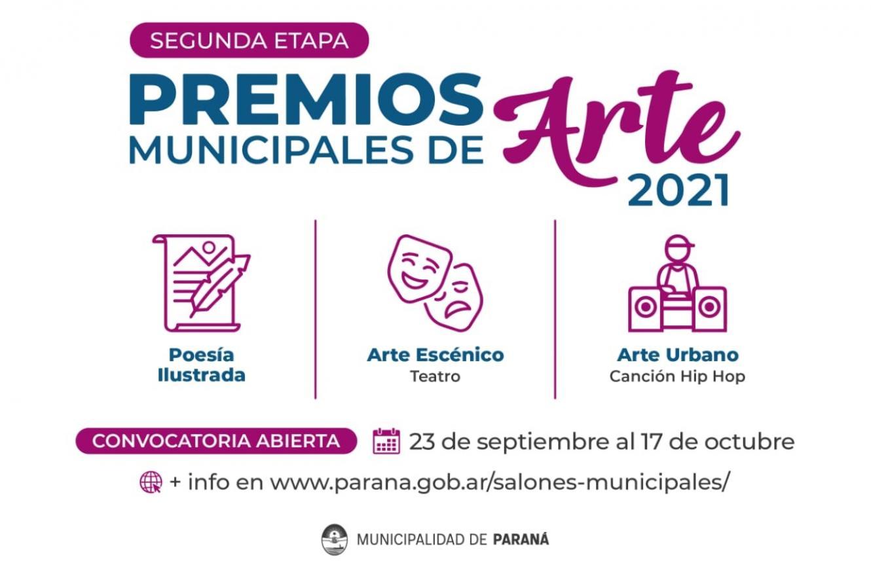 Premios de Arte Municipales 2021