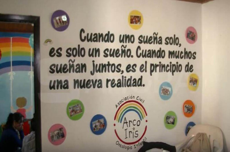 La Fundación Arco Iris acompaña a los niños y a sus familias en un proceso largo pero necesario para la salud y la vida.