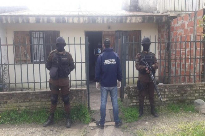 En un megaoperativo por drogas allanaron viviendas en Tala, Maciá y Villaguay