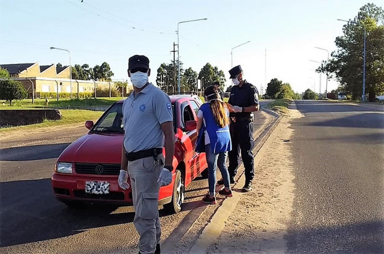 Imagen de archivo. secretario de Justicia informó que, desde el 20 de marzo a la fecha, se iniciaron 1.603 causas penales; se secuestraron 146 vehículos y se labraron 20.506 actas de infracción por violar el DNU 297/20.