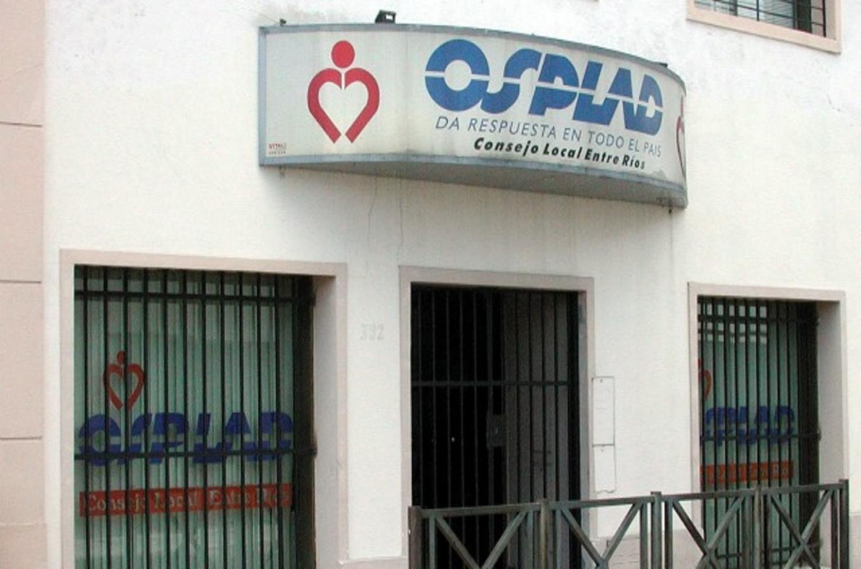Olalla pidió al Ejecutivo nacional la intervención de OSPLAD
