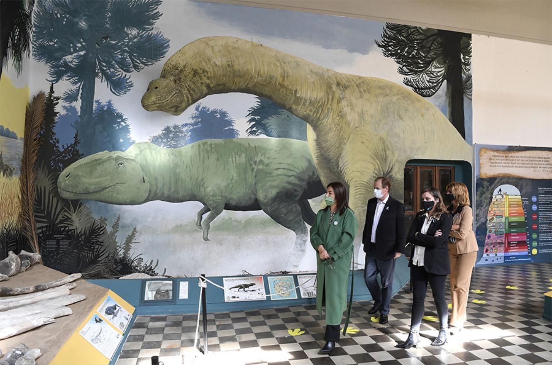 """La obra en el Museo de Ciencias Naturales y Antropológicas """"Profesor Antonio Serrano"""", tiene un 57 por ciento de avance y para octubre está previsto que concluya."""