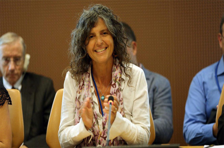 Imagen de Romina Picolotti, quien a partir del miércoles afronta un juicio por posibles actos de corrupción.