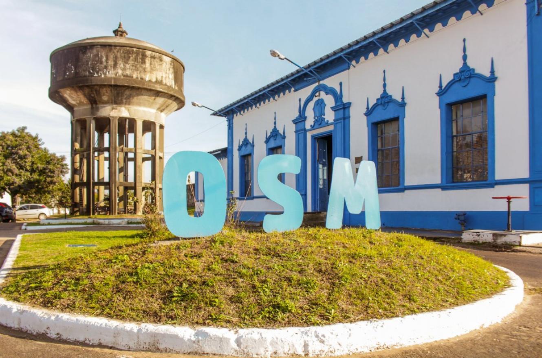 Imagen de la planta de Obras Sanitarias de la Municipalidad de Gualeguaychú.