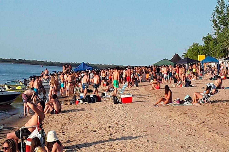playa de Villa Urquiza