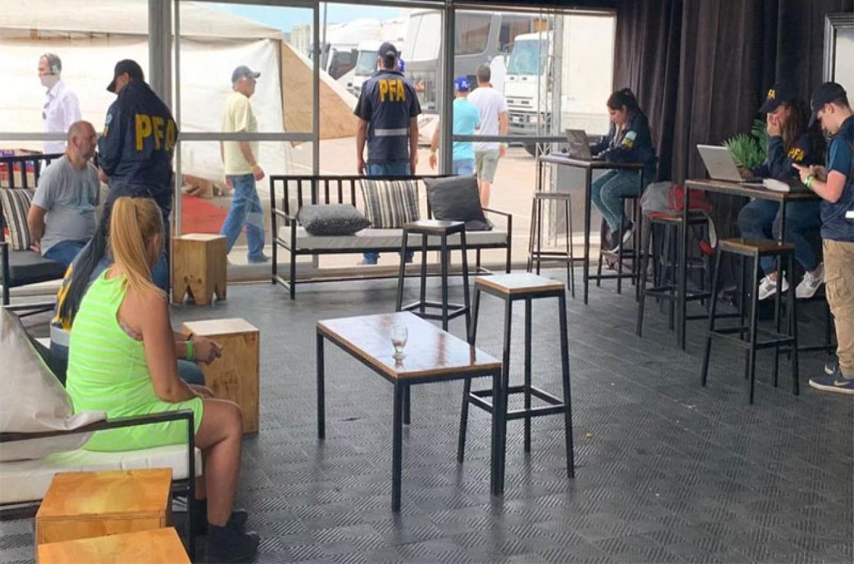 operativo policial Autódromo Rosario