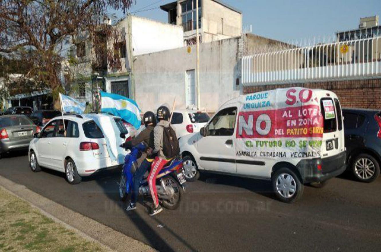 protesta contra loteo Parque Urquiza